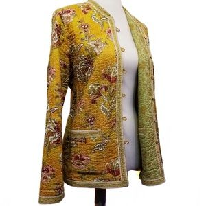 PROVENCE D'AMOUR Vintage Reversible Spring Jacket
